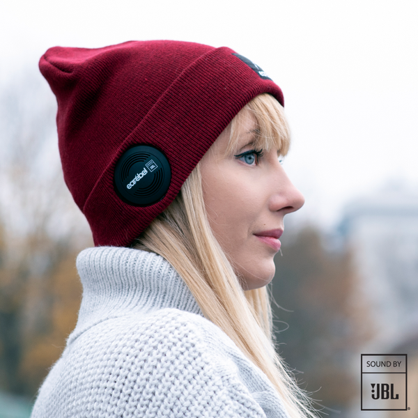 Bluetooth® Dock Beanie JBL® Burgundy