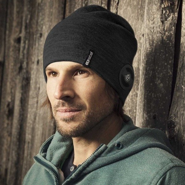 Bluetooth® Slim Light Beanie Black