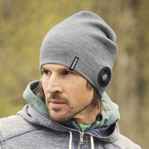 Bluetooth® Slim Light Beanie Grey