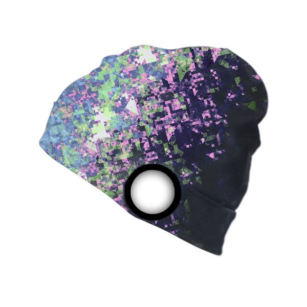 Performance Light Beanie Camo-Purple