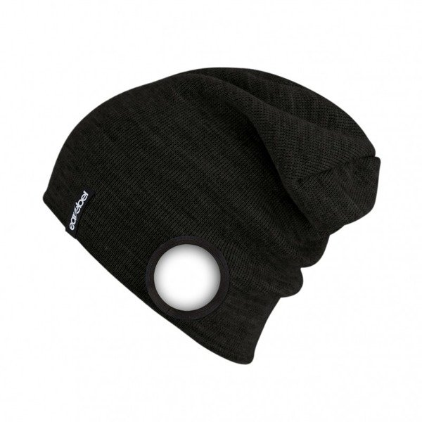 Slim Light Beanie Black