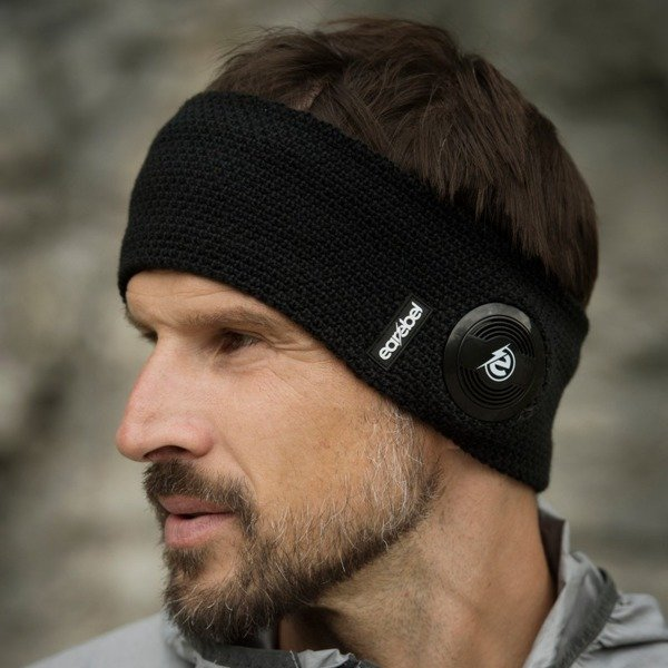 Warm Up Headband Black